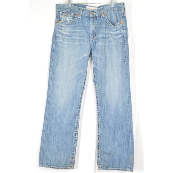 Big Star Other - Big Star jeans 36 x 32 men Pioneer flap back pocke